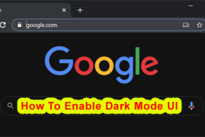 How To Enable Dark Mode UI On Chrome Browser At Windows 10 1