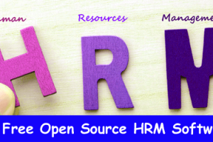 Top 10 Free Open Source HRM Software 1